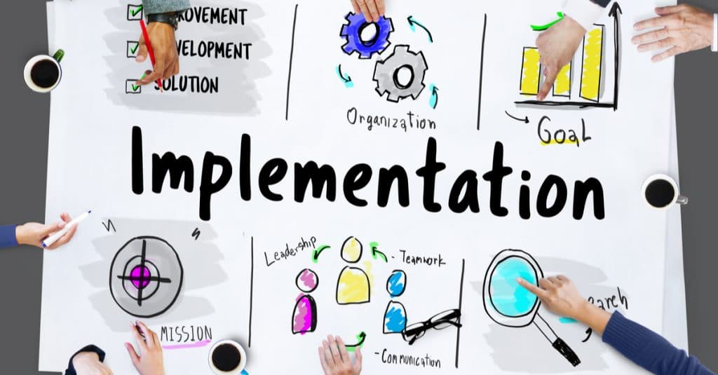 marketing consultant implementation